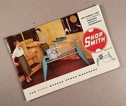 1954 Magna Engineering Corp. Shopsmith Mark 5 V Brochure, 20 Pages, Very Early