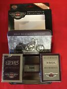 Harley-davidson Motorcycles 95th Anniversary Collectible Tin And Playing Cards New