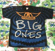 Aerosmith Big Ones T-shirt Xl Concert 1994 Tour Anvil 2-sided All Over Print