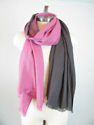 New Echo Design Pink Milk Made Ombre Woven Wrap Scarf