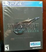 Final Fantasy 7 Remake Deluxe Edition Playstation 4 Ps4 Sold Out New