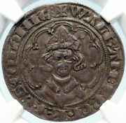 1332-1349 Germany German States Cologne Walram Julich Silver 1gt Ngc Coin I83710