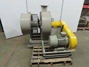 Gumsung Poong Ryuk Co. 30hp Centrifugal Blower 480v 3ph 10 Discharge 3585rpm