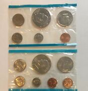 Us Proof Mint Set 1776-1976 6 Coins And 1973 7 Coins
