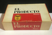 El Producto Bouquets Original Cigar Box For 50 Fifty Cigars Vintage And Pipe