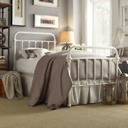 Complete Metal Bed Frame With Headboard Footboard Vintage Style Multiple Size