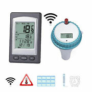 Wireless Thermometer Swimming Pool Lcd Display Floating Water Temperature Gauge
