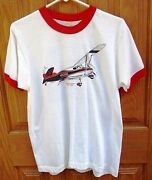 Ama 1985 Nats Westover Afb, Mass. Stinson Voyager/gee Bee Vintage Tshirt