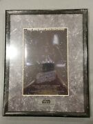 💥new 1994 Star Wars Chromart Print Special Collectorand039s Edition Movie Poster