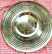Lets Roll 1955 Pontiac Stainless Steel Hub Cap