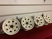 Factory 1980-1986 Ford Truck / Bronco Styled Steel Wheels Wagon Wheel 15x7