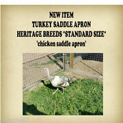 New Item Turkey Or  Chicken Saddle Apron Hatching Eggs Back Protection