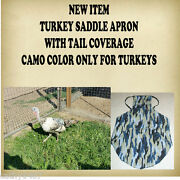 Turkey Or Chicken Saddle Apron With Tail Coverage Hatching Eggs Back Protection