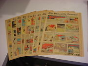 Nice1st Consecutive 9 Superman Sunday Pages W/origin 5/5/1940 Knoxville Journal