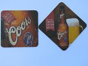 Beer Brewery Coaster Coors Brewing Limited Edition Banquet Bottle Colorado