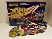 John Force Race Station Autographed Special 124 American Soldier Norwalk