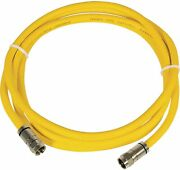 Marinco Hdtv/internet Cable 50and039 Yellow New