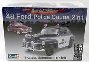 125 Scale And03948 Ford Police Coupe 2and039n1 Model Kit - Revell 85-4318