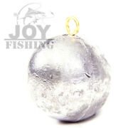 10lbs Bulk Pack/ 10 Pound Lot Cannonball 1oz Tackle Lead Fishing Sinker Weight