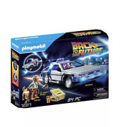 Playmobil Back To The Future 70317 Delorean Time Machine In Hand⚡️fast Free Ship