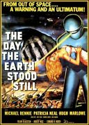 240283 The Day The Earth Stood Still Movie Wall Print Poster Us
