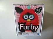2012 Electronic Red Furby Doll Black Cherry, Made By Hasbro, Brand New Sealed