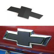 Black Chevrolet Nameplate Car Auto Rear Trunk Lid Emblem Badge For Chevy Rs