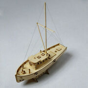 Diy 130 Scale Wooden Sailboat Ship Kits Home Model Decoration Boat Toy Gifts