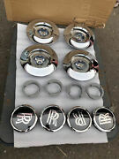 Used Genuine Rolls Royce Phantom Wraith Wheel Complete Center Caps Set