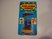 Rare Mosc,unpunched 1975 Mego Comic Action Heroes Superman 3 3/4