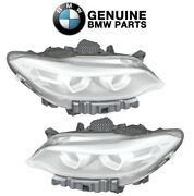 Genuine Pair Set Of Left And Right Headlight Assemblies For Bmw F22 F23 F87 230i