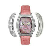 4900 Elini New Yorker Ladies Diamond Watch Mother Of Pearl Face