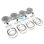 4pcs 4.2l Piston Ring Assembly Kit 1-4 Fit For Audi Rs5 13-16 Cfsa