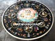 Bird With Pietradura Animal Fine Marble Inlaid Collectible Dining Table Top M209