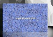 Expensive Marble Sodalite With Cooper Inlaid Restaurant Dining Slab Decor E261