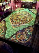 Marble Dining Big Table Top Mosaic Handmade Exclusive Inlay Home Decors H4807