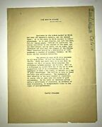 Original Calvin Coolidge Typescript White House Letter About Insurance Industry