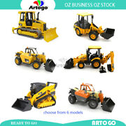 Jcb Jlg Caterpillar Loader | Tractor Scale 116 Toy Model Large Au Stock