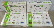 Lot Of 4 Nintendo Wii Fit Balance Boards + 1 Charge Pack 1 Silicone Cover