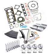 1.8t Engine Repair Set Andtiming And Valves 21mm For Vw Golf Cc Audi A3 A5