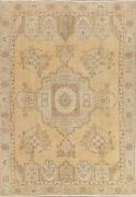 Antique Muted Tebriz Traditional Area Rug Wool Hand-made Home Decor Carpet 6and039x9and039