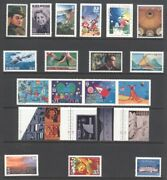 2000 U.s. Commemorative Year Set 130 Stamps With 6 Sheets And Airmail Mint-nh