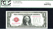 1928 1 Fr 1500- Us Note - Pcgs 66 Ppq-62 Notes In Higher Grade