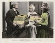 B-lauren Bacall/william Powell Autographed Photo How To Marry A Millionairew/coa