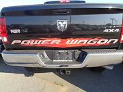 14-16 Dodge Ram 2500 New Red Power Wagon Tailgate Decal Mopar Factory Oem