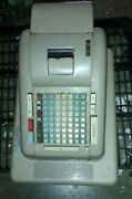 1950s Clary Electric Adding Machine Cash Register - No Keys For Parts Or Repair