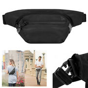 Travelon Anti-theft Concealed Carry Active Waist Pack Black Rfid Blocking Travel