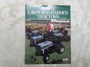 Nice White Lawn And Garden Tractors Sales Brochure 8 Pages