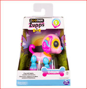 Zoomer Zupps Interactive Tiny Puppy Dog Poodle Dawn - Sounds Tricks Pink ❤️new❤️