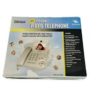 Intraco Color Video Telephone For Home Or Office Land-line